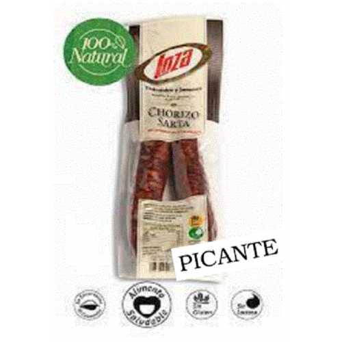 """Chorizo Sarta Picante Casero 100% NATURAL - La Rioja - """"LOZA"""""""