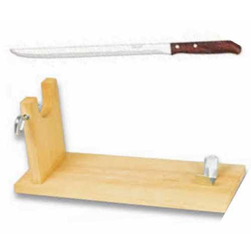 "Soporte Jamonero Modelo Banqueta con cuchillo marca ""Arcos"""