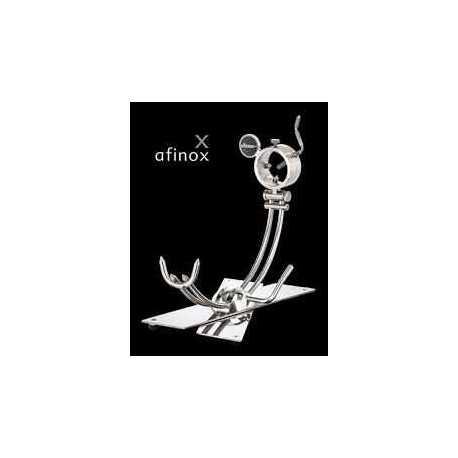 """Soporte Jamonero Modelo Inteligente """"Afinox"""" base Silestone"""