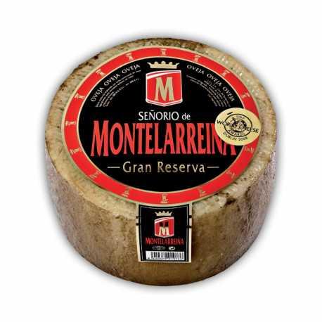 Queso Puro de Oveja Señorío de Montelarreina Gran Reserva Pieza Entera 2,7-3,3Kg