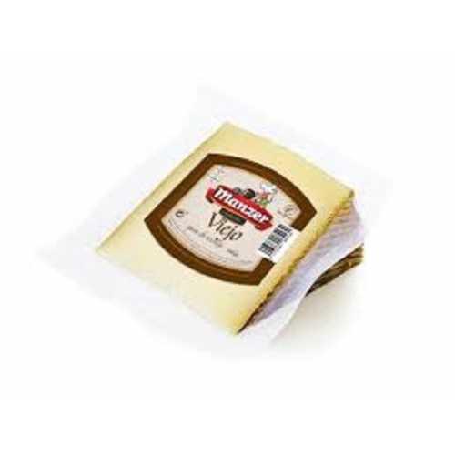 "Queso Puro de Oveja Seco ""MANZER"" (leche cruda) cuña 300 gramos"