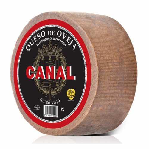 """QUESO OVEJA VIEJO """"CANAL"""" piezas de 3 kilos. 100% LECHE CRUDA"""
